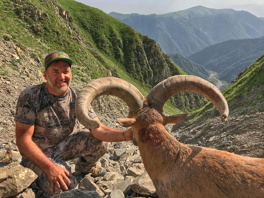 Hunting Tur in Aserbaidschan