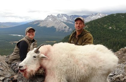 mountain goat hunt in BC