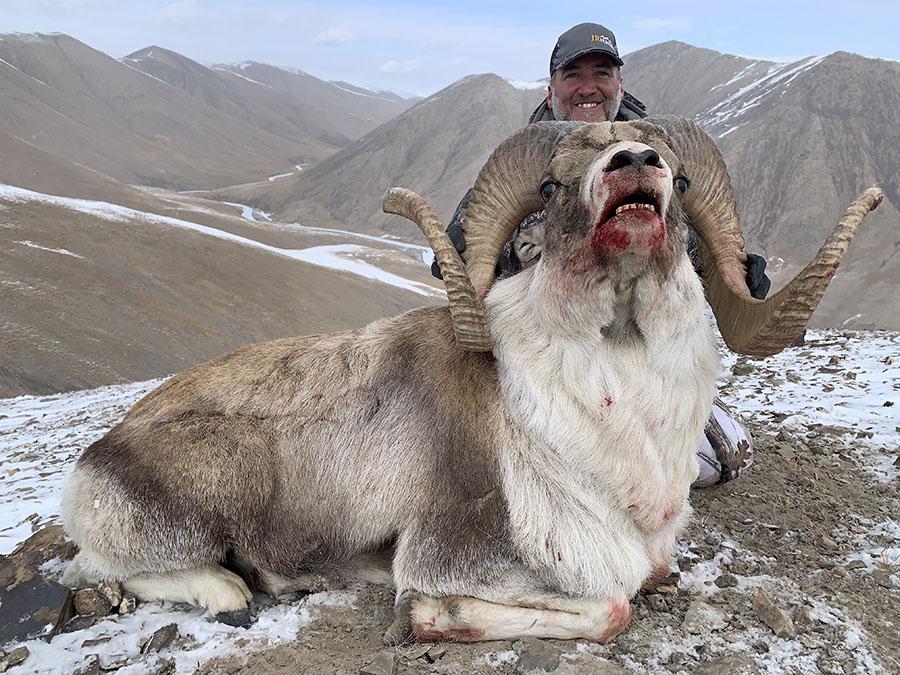 Hunting Hume Argali Kyrgyzstan