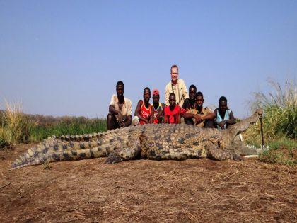 Mozambique Crocodile Hunt