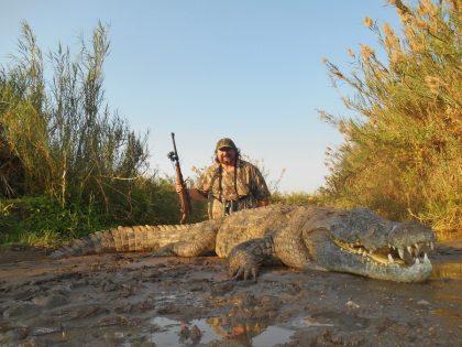 Mozambique Crocodile Hunting