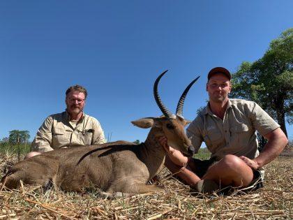 Reedbuck Hunt Mozambique