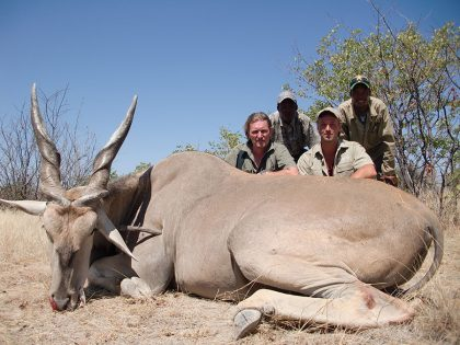 Eland Hunting in Namibia