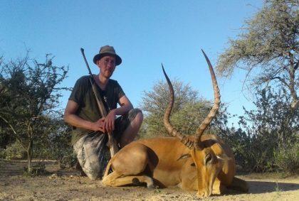 Namibia Impala Hunting