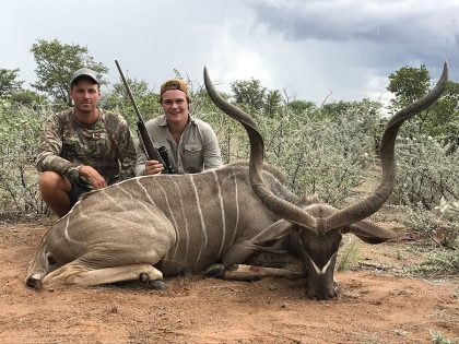 Kudu Hunting in Namibia