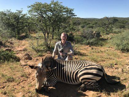 Zebra Hunting in Namibia