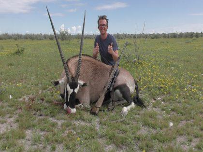 Namibia Oryx Hunting