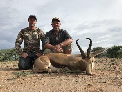 Springbock Hunting in Namibia