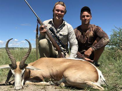 Namibia Springbuck Hunting