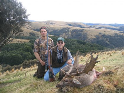 New Zealand Fallow Buck Hunting