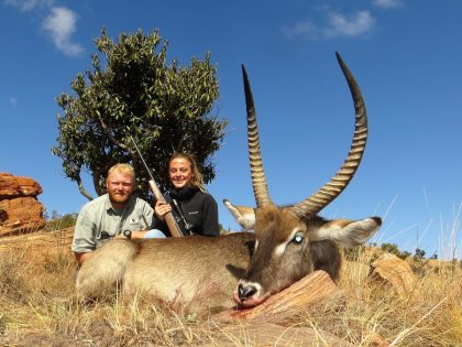South Africa Waterbuck Hunting