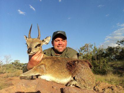 Klippspring Hunt in South Africa