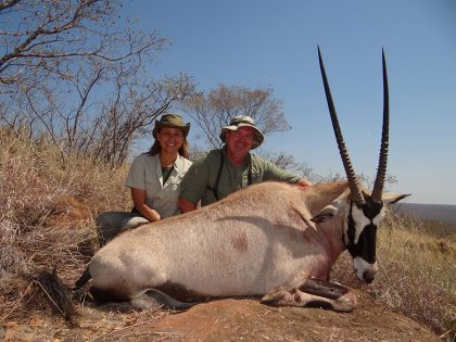 Oryx Hunt in South Africa