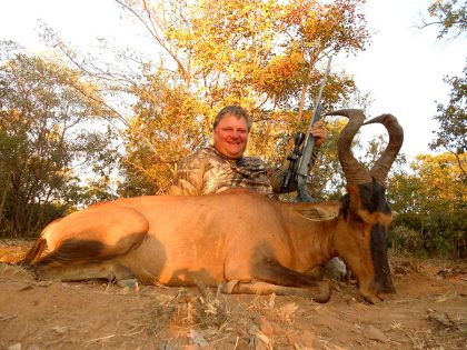 Hartebeest Hunt in South Africa