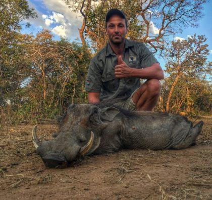 South Africa Warthog