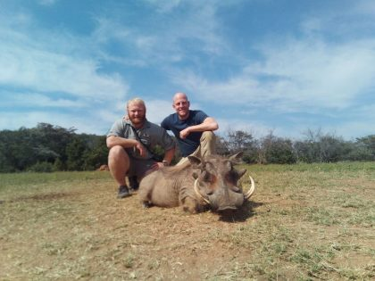 South Africa Warthog Hunting