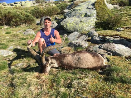 Hunting Ibex in Spain