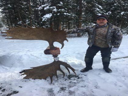 Moose Hunting in the Yukon