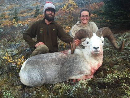 Yukon Stone Sheep Hunting