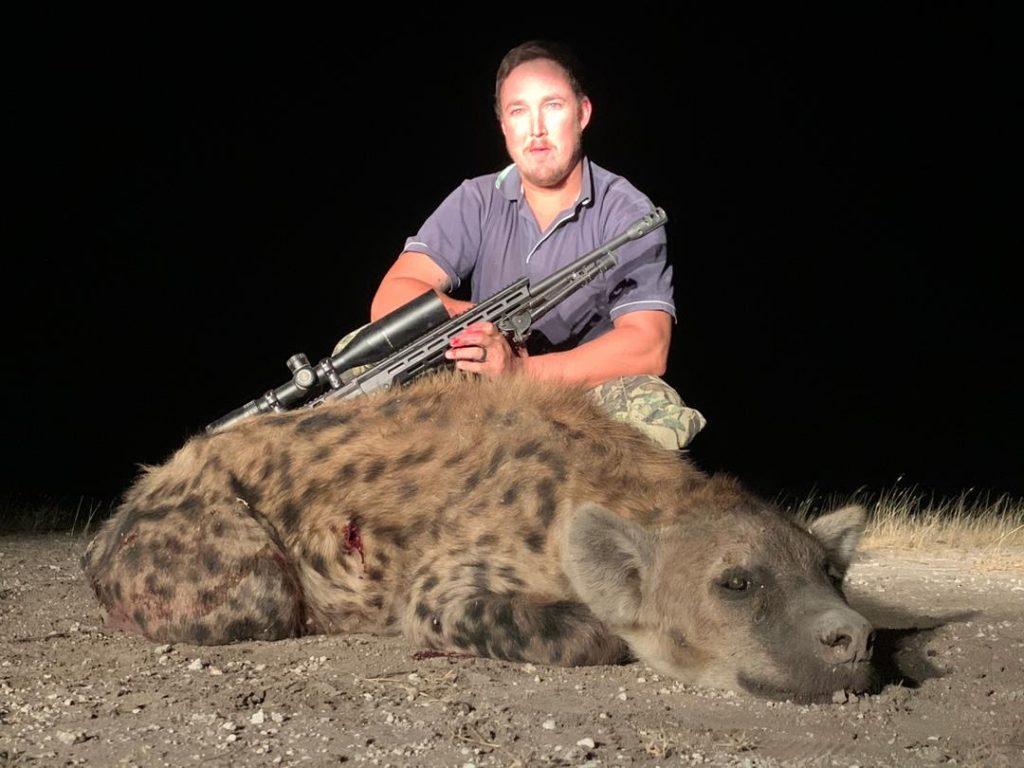 Namibia Hyena